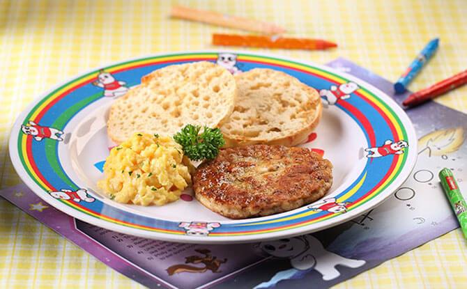 Swensen's Kids Meal for Breakfast