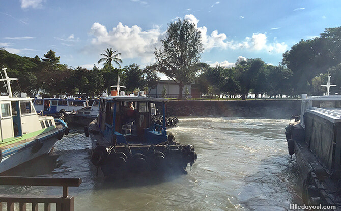 Bumboat to Pulau Ubin from Changi Point Ferry Terminal