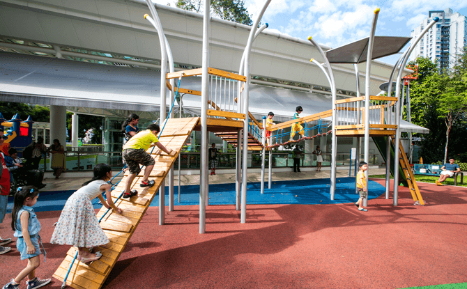 City Square Mall Playground
