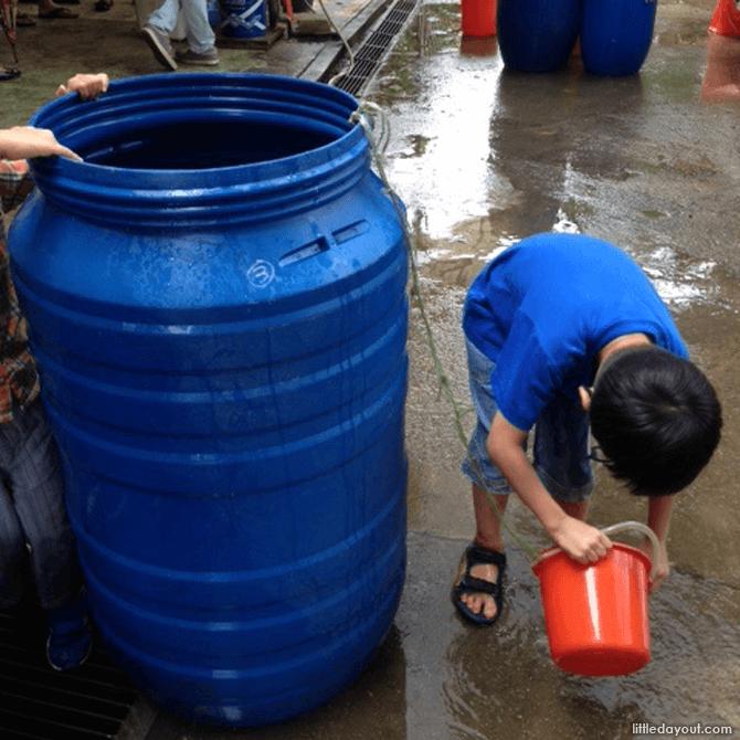 Rain Water Wash
