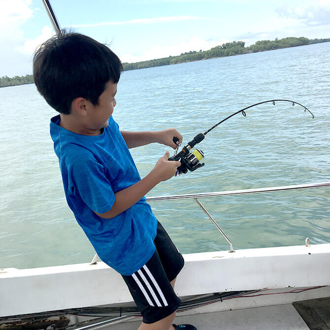 Fishing Expedition with Kids
