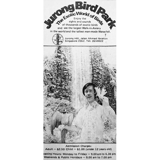 Jurong Bird Park Golden Anniversary
