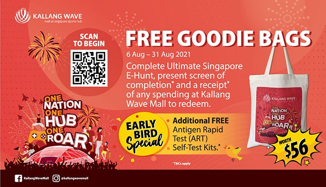 Spend and Redeem at Kallang Wave Mall