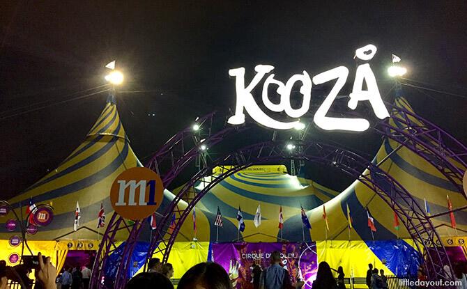 Cirque du Soleil Kooza in Singapore