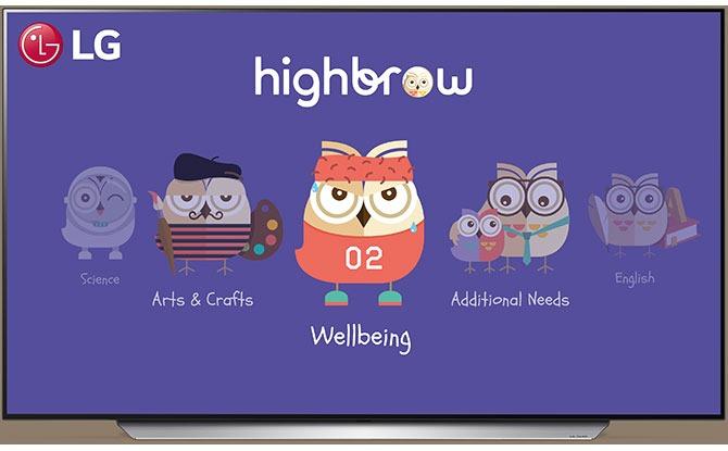 Highbrow x LG Smart TVs