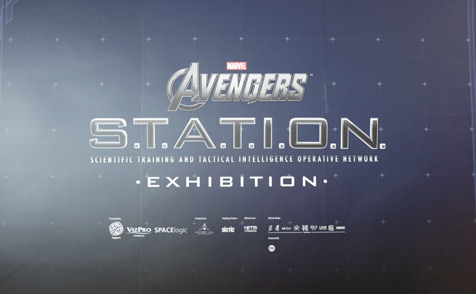 Marvel Avengers Station exhibition