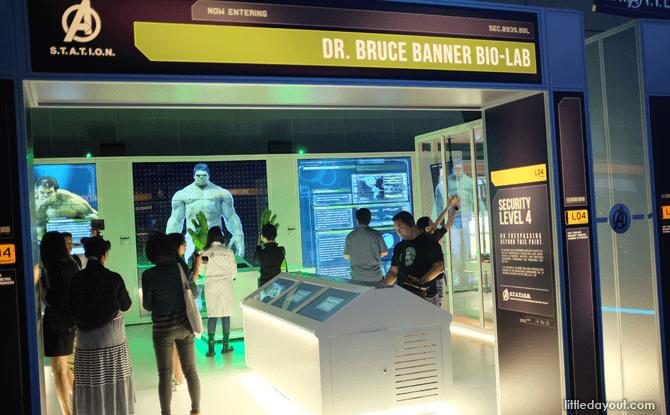 Marvel Avengers Station bio-lab