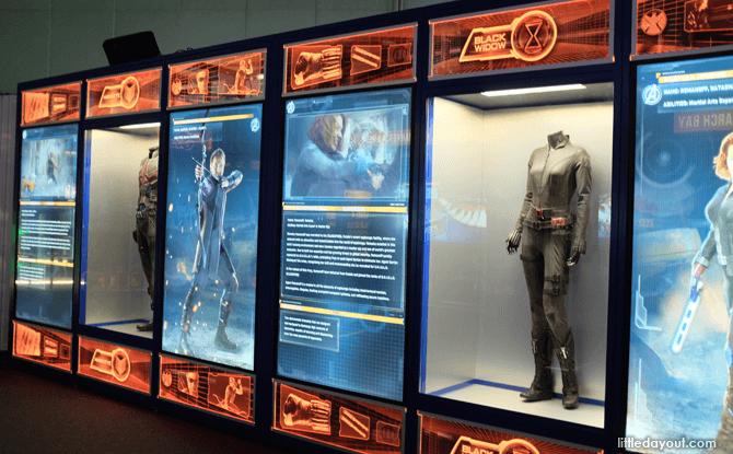 Marvel Avengers Station personnel files