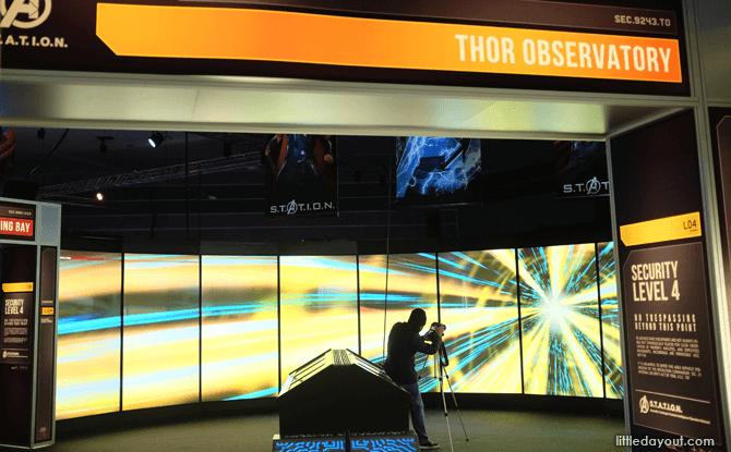Marvel Avengers Station Thor Observatory