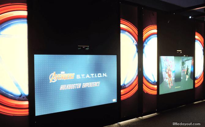 Marvel Avengers Station Hulkbuster exhibit