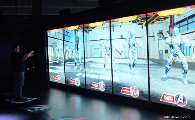 Marvel Avengers Station interactive game