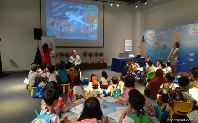Imagine Native S.E.A. Aquarium storytelling workshops