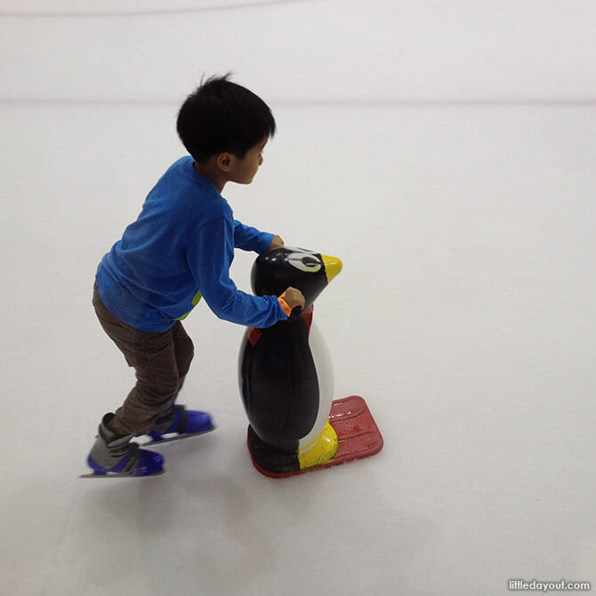 The Penguin at The Rink