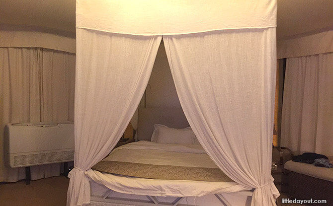 Four Poster Bed at The Canopi Bintan