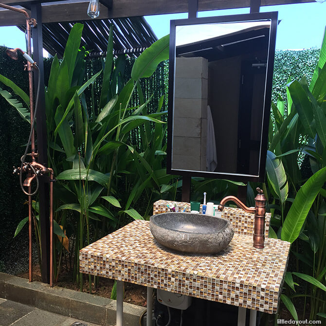 Outdoor Toilet at The Canopi Resort Bintan