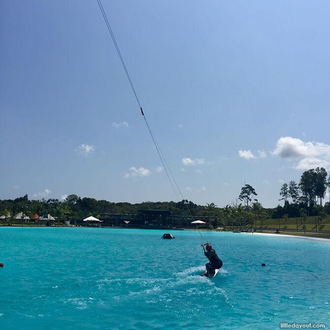 Wakeboarding at The Canopi Resort, Bintan