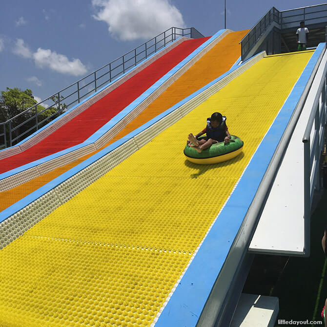 Water Slides at The Canopi Resort, Bintan