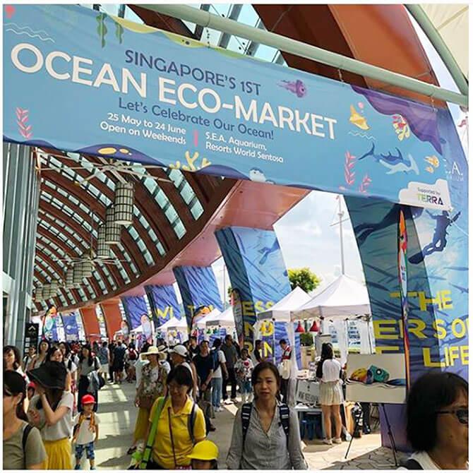 S.E.A. Aquarium Ocean Fest! Ocean Eco-Market