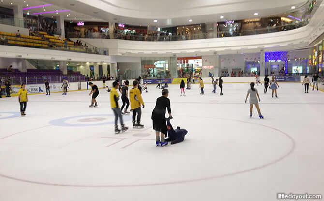 The Seal on Ice at The Rink, JCube