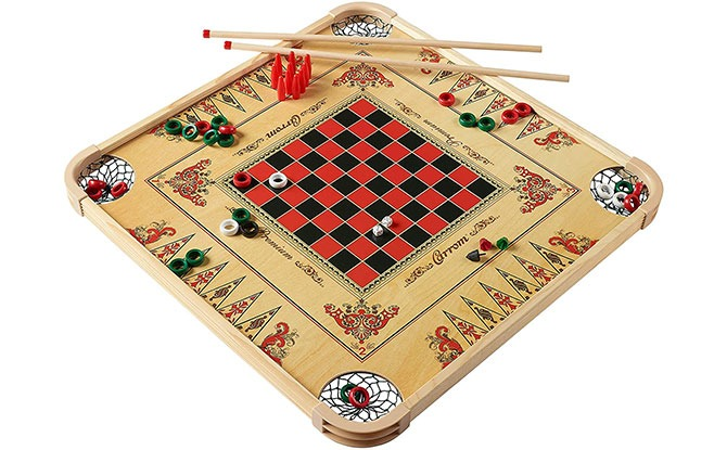 Carrom Board with Multiple Games