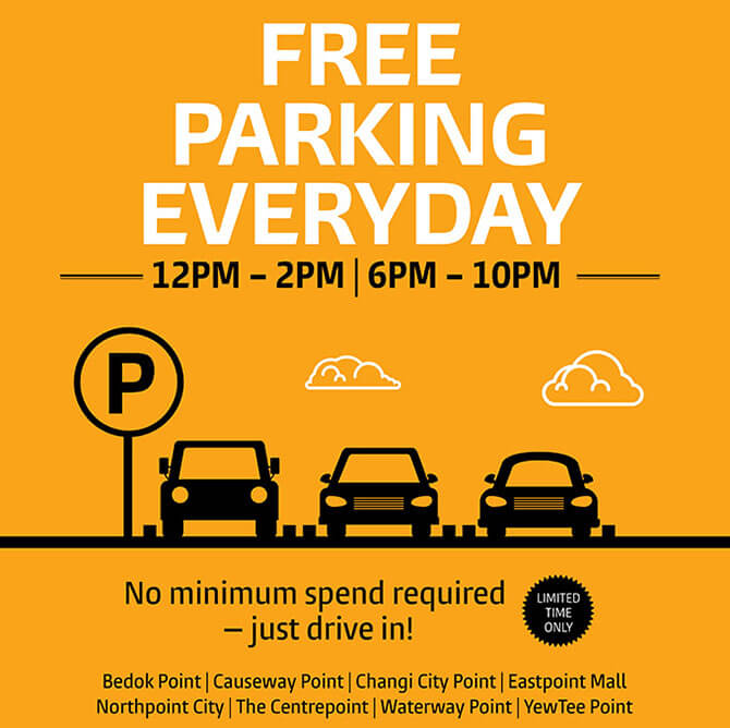 Free Parking Malls - The Malls of Frasers Property