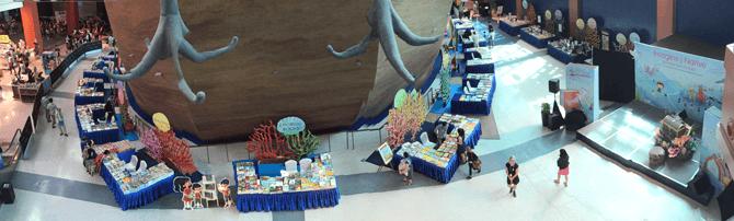Imagine Native S.E.A. Aquarium book exhibition