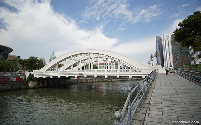 Elgin Bridge, Singapore River Bridge