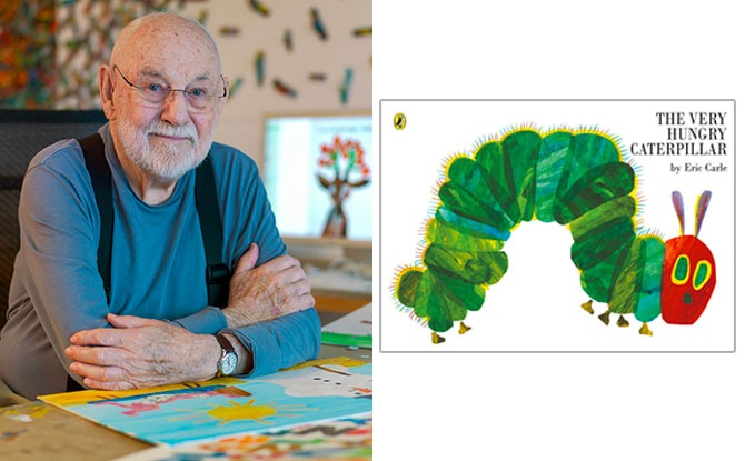 The Very Hungry Caterpillar Author, Eric Carle, Has Passed Away, Age 91