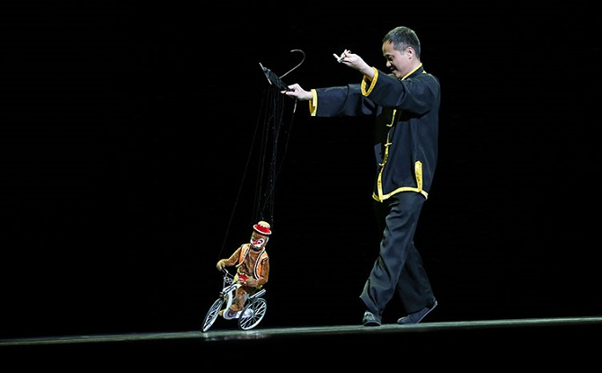 Exquisite String Puppetry