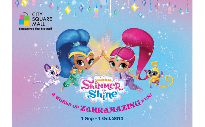 Shimmer & Shine at City Square Mall