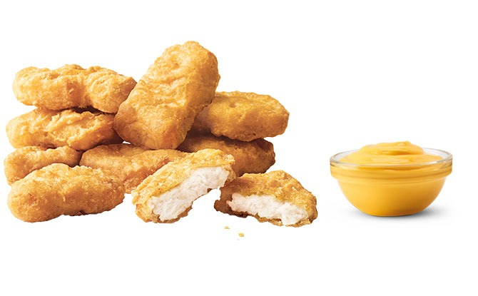 Chicken McNuggets, Nacho Cheese Sauce