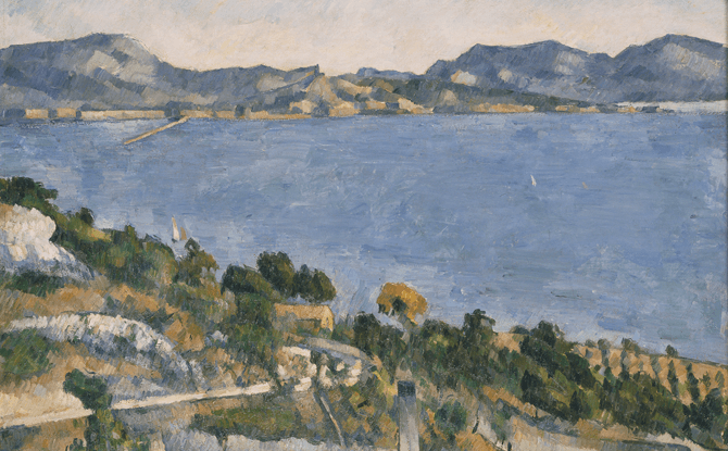 Paul Cezanne, Le golfe de Marseille vu de lEstaque