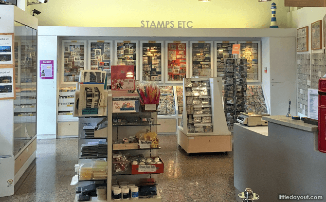 Singapore Philatelic Museum Shop
