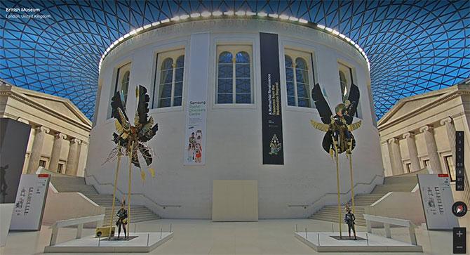 British Museum Virtual Tour by Google