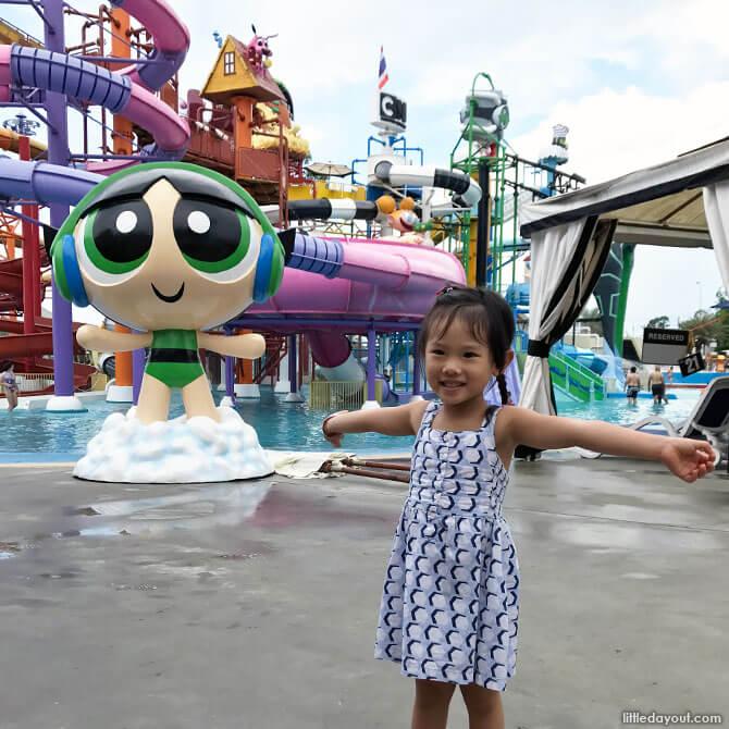 Cartoon Network Amazone in Pattaya, Thailand