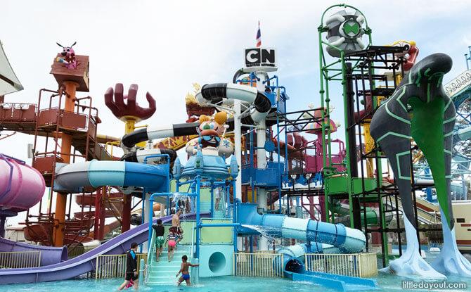 Cartoon Network Amazone: Water Park Fun In Pattaya + Money Saving Tips