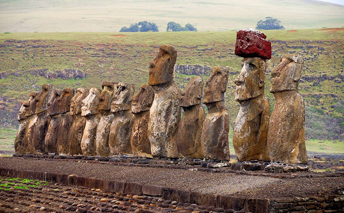 Moai from Easter Island