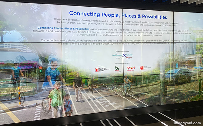 Connecting People, Places & Possibilities At SG Mobility Gallery