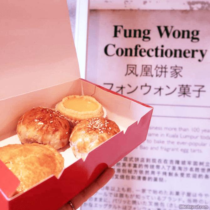 Fung Wong Confectionary Egg Tarts