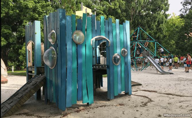 Fort at Bishan-Ang Mo Kio Adventure Playground