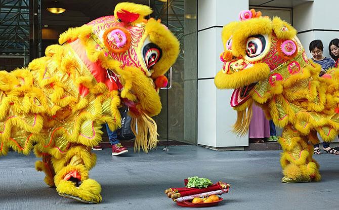 f lion dance singapore 2020