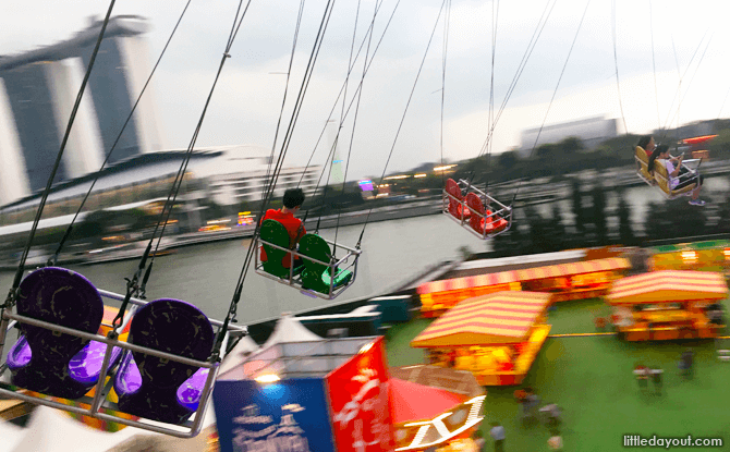 Ride at Marina Bay Carnival