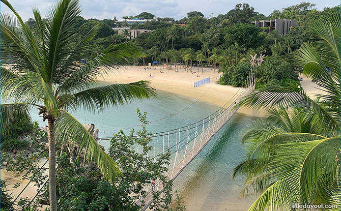 Sentosa's Southernmost Point of Continental Asia