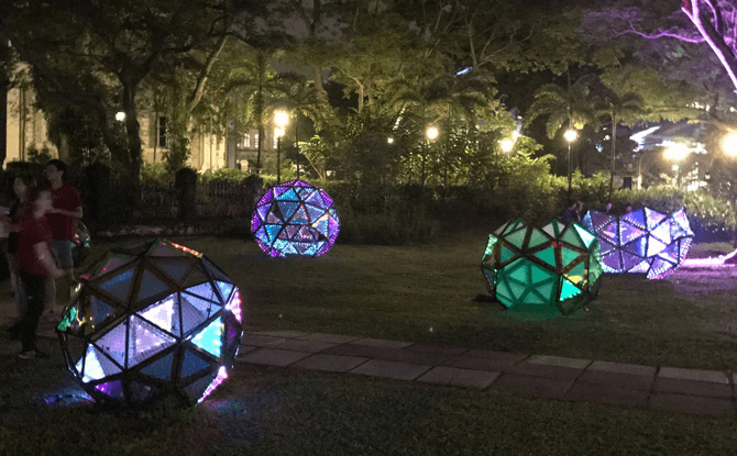 Tessellations of Time - Singapore Night Festival 2017