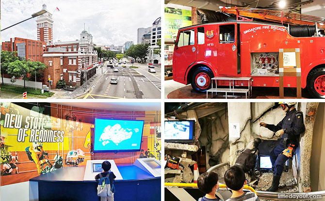 Civil Defence Heritage Museum & SCDF Emergency Preparedness Centre: For Aspiring Fire Fighters & Emergency Responders