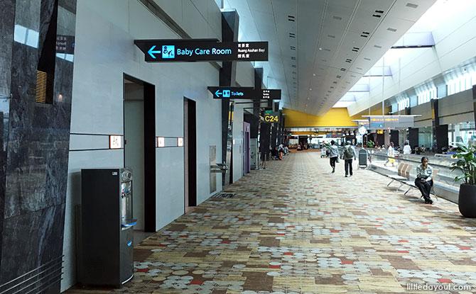 Terminal 1 c24 transit area nursing room