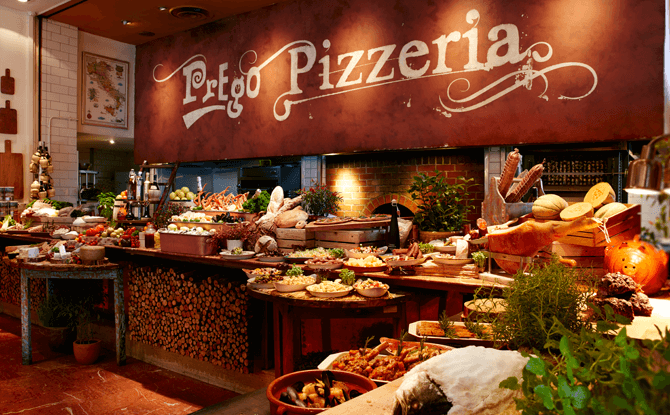Prego's Sunday Trattoria Brunch Buffet, Fairmont Singapore