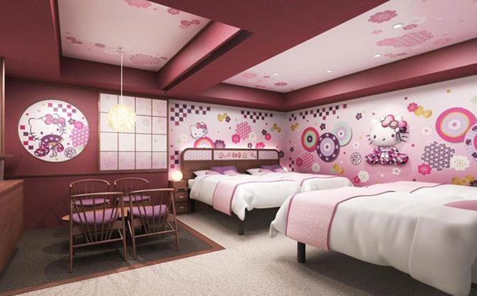 Japanese Modern Hello Kitty room