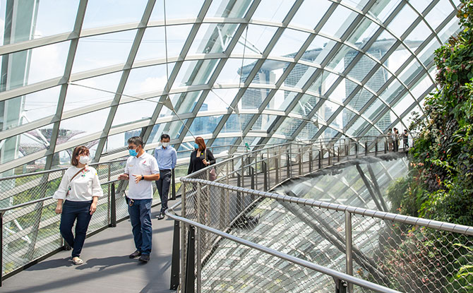 Nurses Get Free Entry to Cloud Forest & Flower Dome In August 2020