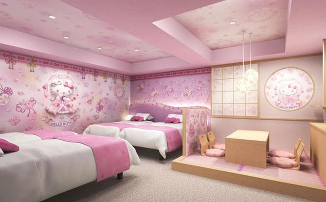 Asakusa Tobu Hotel Hello Kitty Rooms - Sakura Tenjo